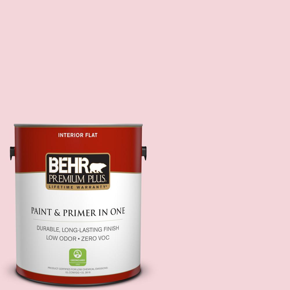 BEHR Premium Plus 1-gal. #P140-1 Summer Crush Flat Interior Paint