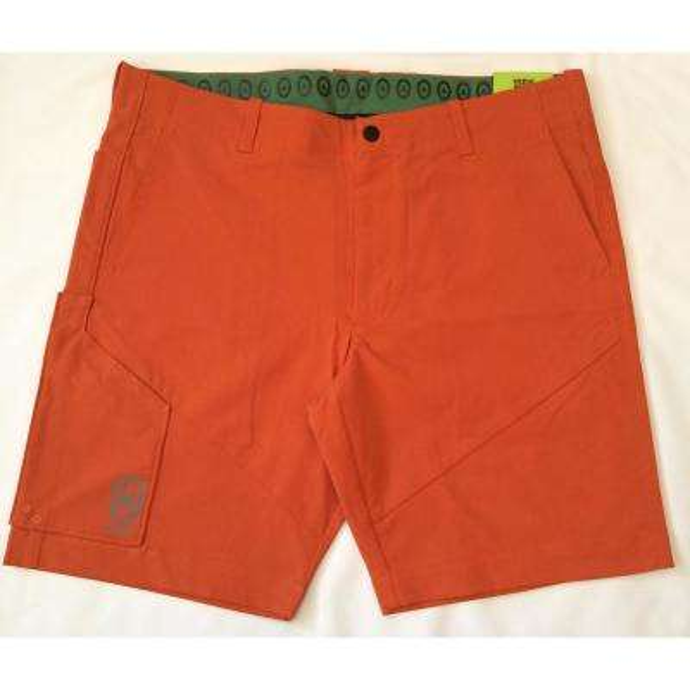 Tech Multi Storage Men's 32 in. Orange Shorts