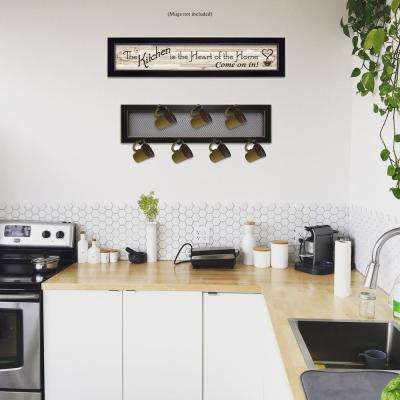"""The Kitchen Vignette"" by Millwork Engineering Framed Wall Art"