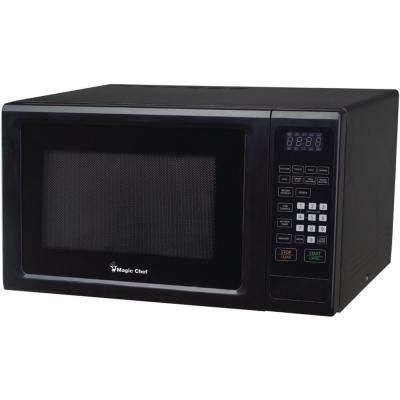 1.1 cu. ft. 1000-Watt Countertop Microwave with Digital Touch in Black
