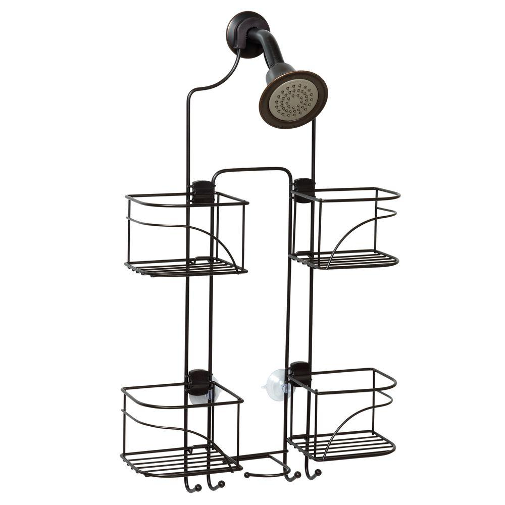 Zenna Home Expandable Shower Caddy for Hand Held Shower or Tall ...
