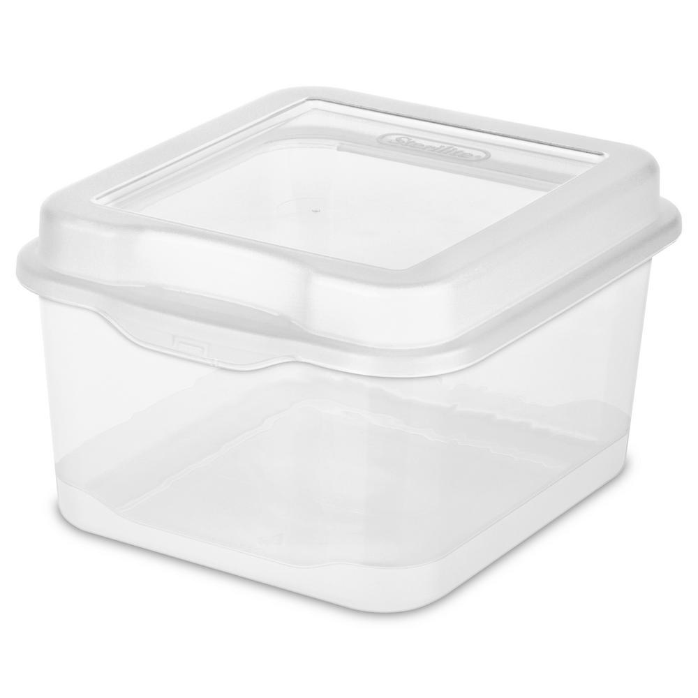 2.5 -Qt. Flip-Top Box