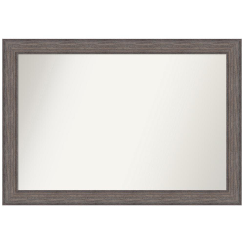 Amanti Art Choose Your Custom Size 46.25 in. x 32.25 in. Country Barnwood Decorative Wall Mirror was $527.68 now $274.92 (48.0% off)