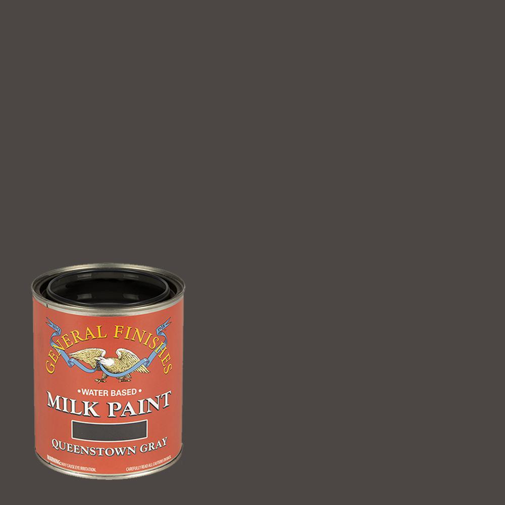 General Finishes 1 qt. Queenstown Gray Interior/Exterior Milk Paint