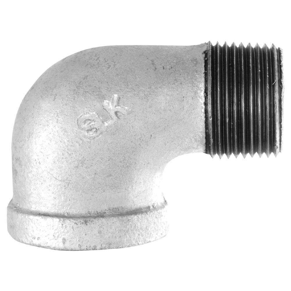 1-1/2 in. Galvanized Iron 90° Street Elbow