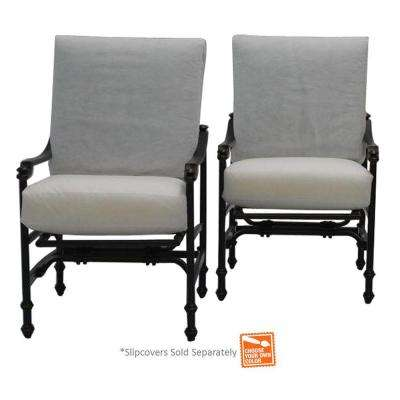 Niles Park Patio Rocker Set with Cushion Insert (2-Pack) (Slipcovers Sold Separately)
