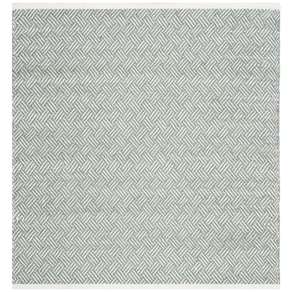 Safavieh Boston Grey 8 Ft X Square Area Rug