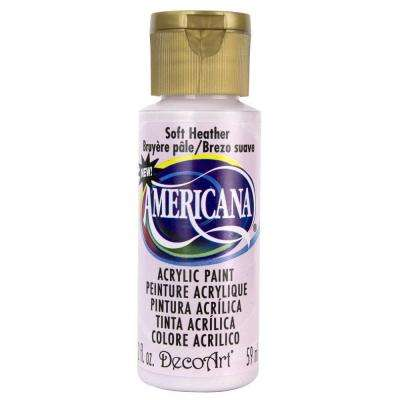 Americana 2 oz. Soft Heather Acrylic Paint