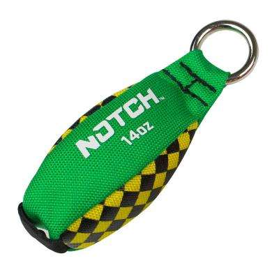14 oz. Green/Yellow Throw Weight