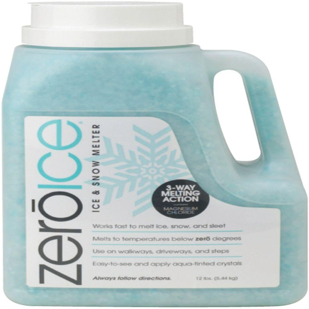 ZeroIce 12 lb. Ice and Snow Melter Jugs (4-Pack)