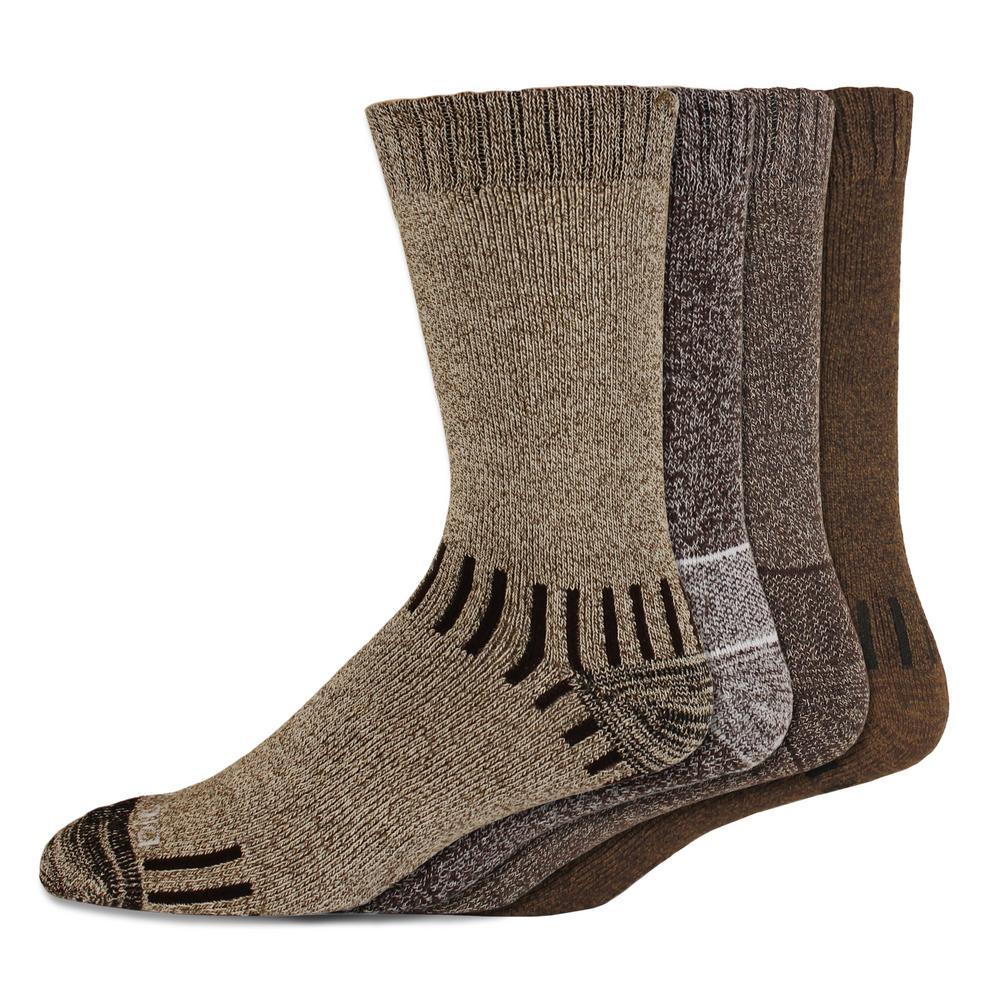 4 pack Trekker Crew sock 090