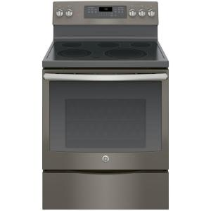 f5537dbc 5.3 cu. ft. Electric Range with Self-Cleaning Convection Oven in Slate,