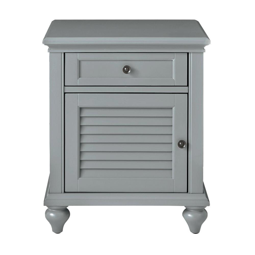 Home Decorators Collection Hamilton Grey Side Table