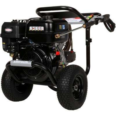 PowerShot 4400PSI at 4.0GPM 420cc with AAA Triplex Plunger Pump Cold Water Pro Gas Pressure Washer