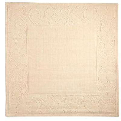 Cyrus Ivory 8 ft. x 8 ft. Square Area Rug