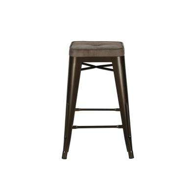 Salerno Bronze Counter Stool (Set of 2)