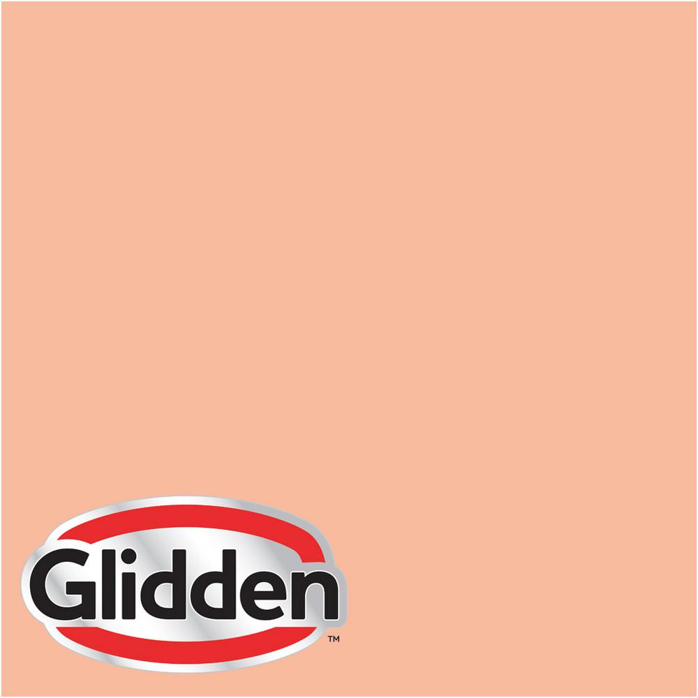Glidden Premium 8 oz. #HDGO16 Peach Medley Satin Interior Paint Sample