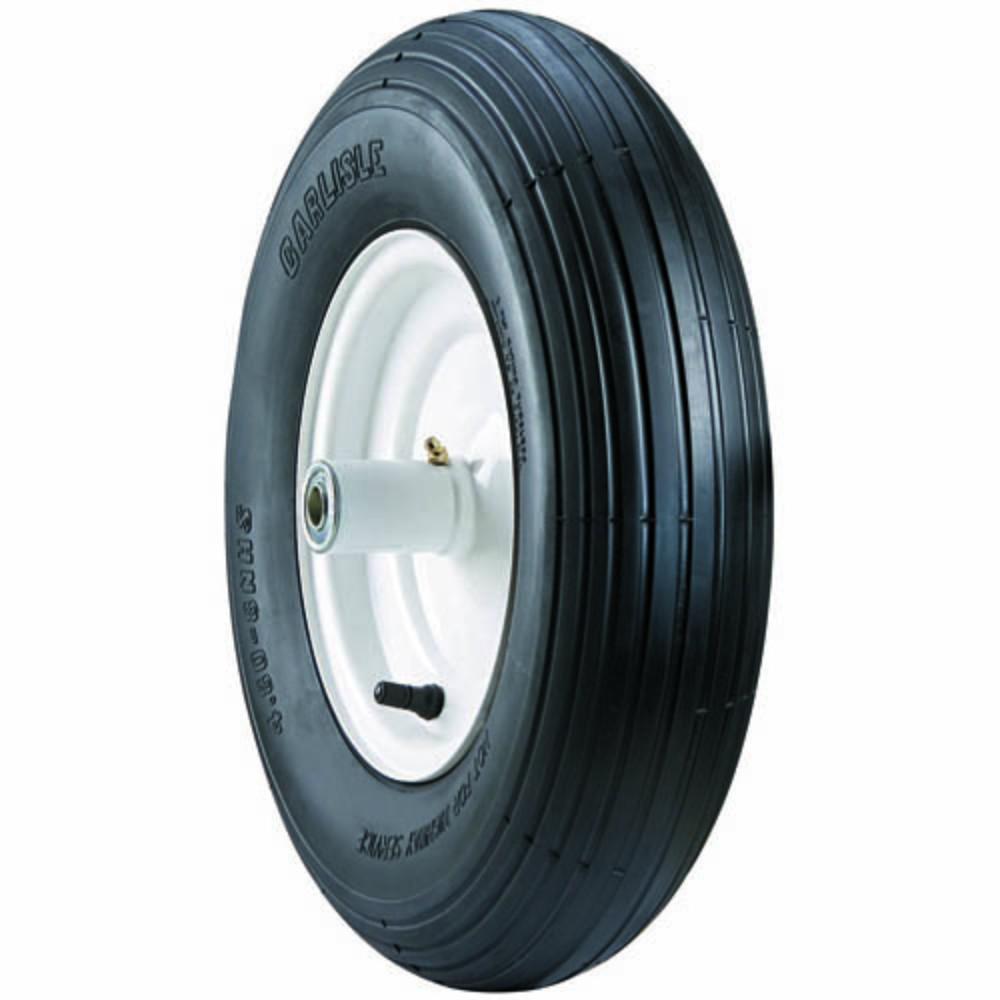 Wheelbarrow 480/400-8/4 Lawn Garden Tire (Wheel Not Included)