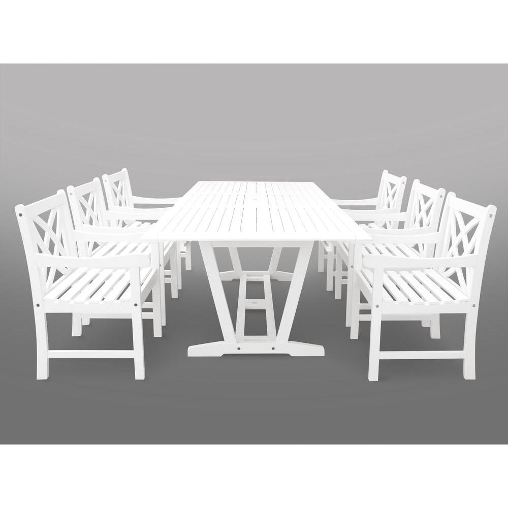 Bradley 7-Piece Rectangle Patio Dining Set