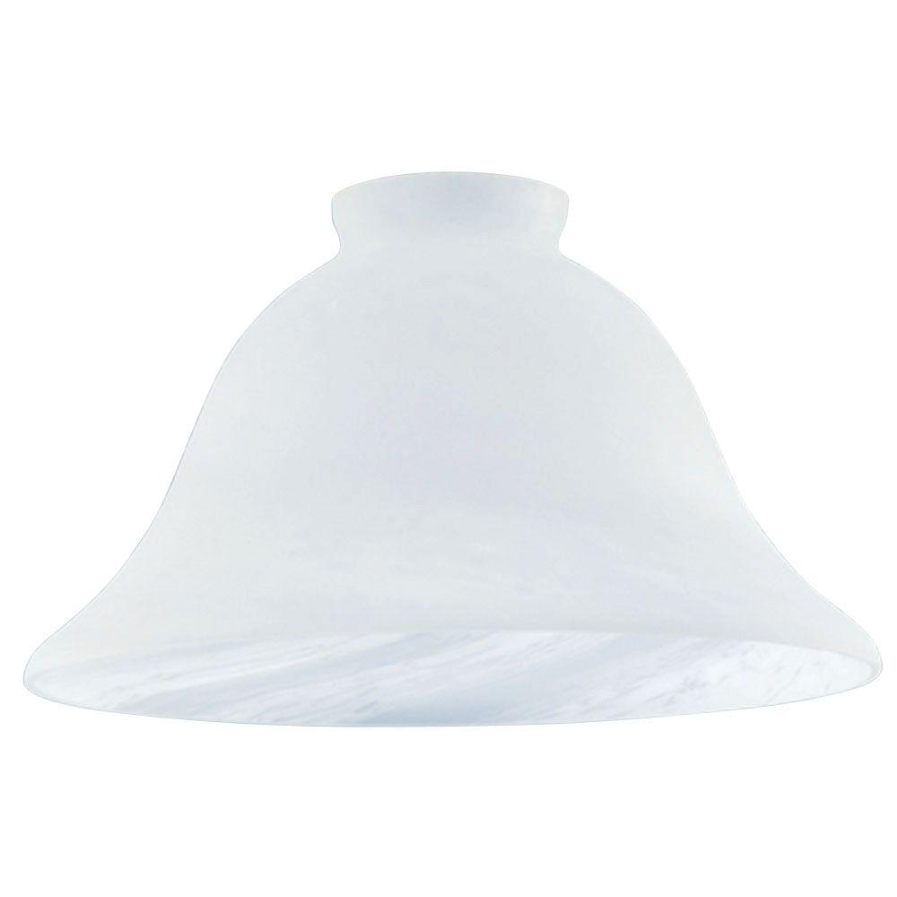 4-3/8 in. Honey Swirl Scavo Shade with 2-1/4 in. Fitter and
