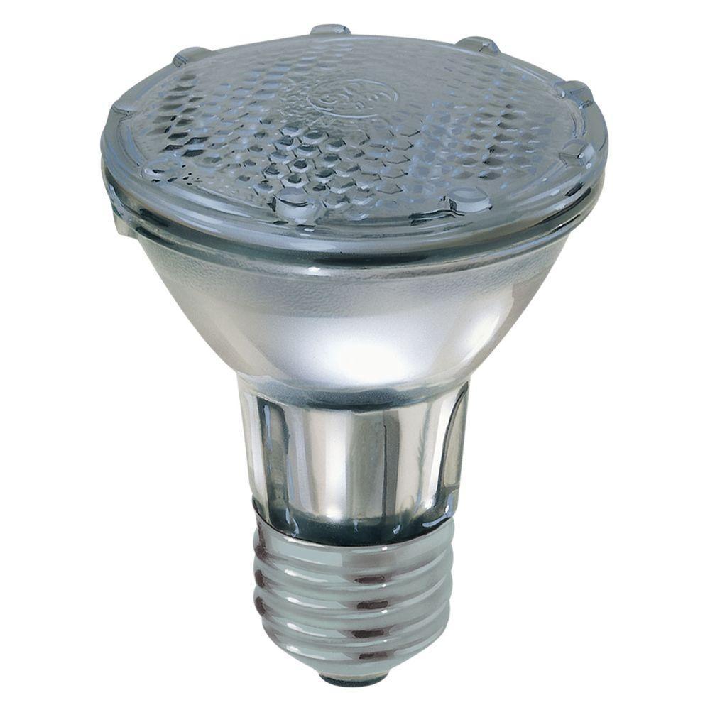 Ge 38 Watt Halogen Par20 Flood Light Bulb E 38par20h Fl25 The Home Depot