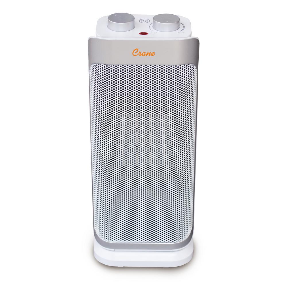 1,500-Watt Ceramic Mini Tower Heater