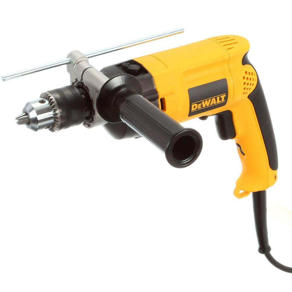 dewalt 1  2 in  variable speed reversible hammer drill