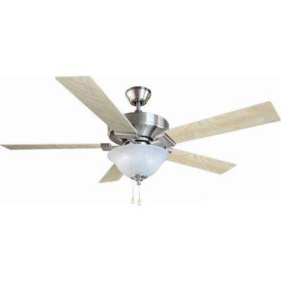 Ironwood 52 in. Satin Nickel Ceiling Fan