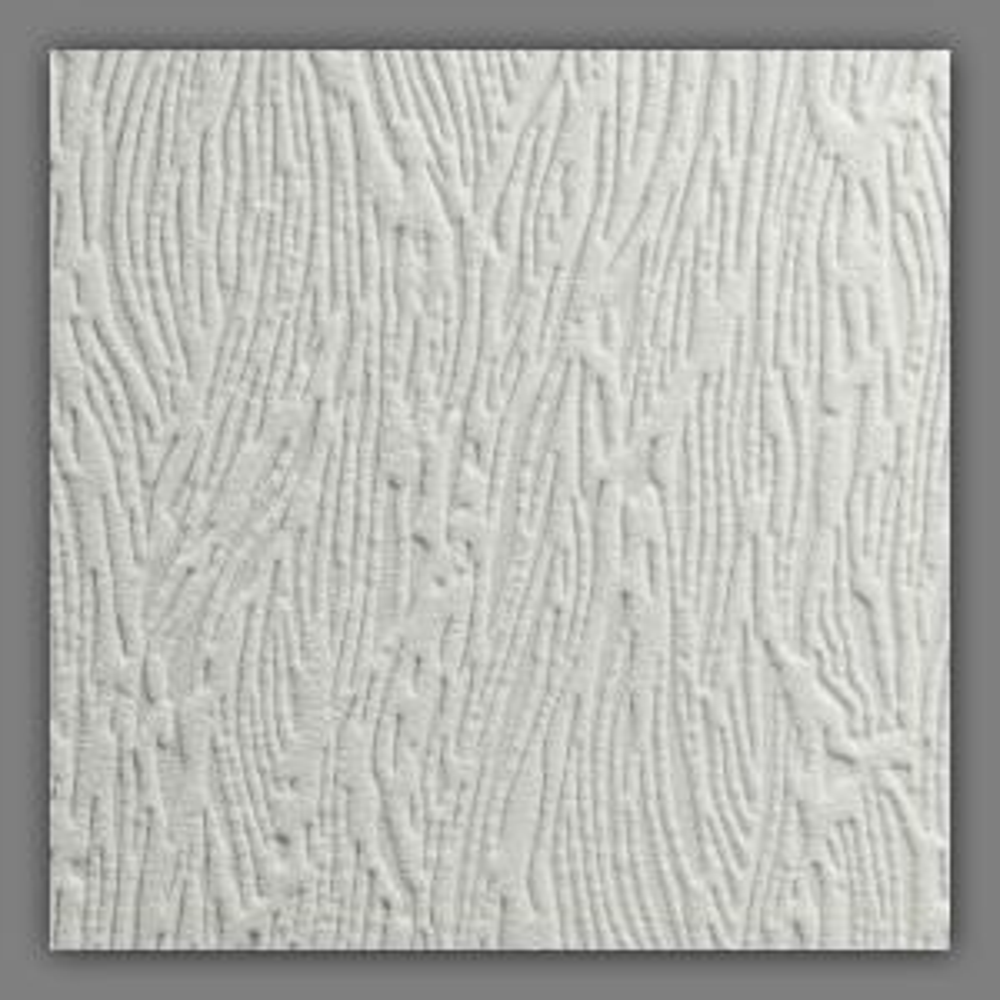 Forest Bark Paintable White Wallpaper