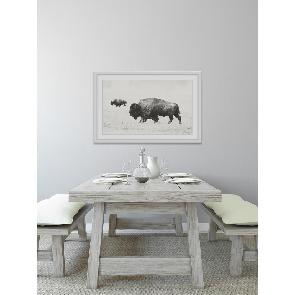 """16 in. H x 24 in. W """"Buffalo Pair"""" by Marmont"""