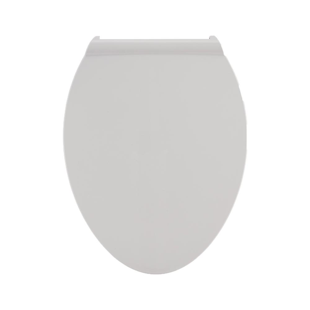 American Standard Fluent Elongated Slow Closed Front Toilet Seat in White