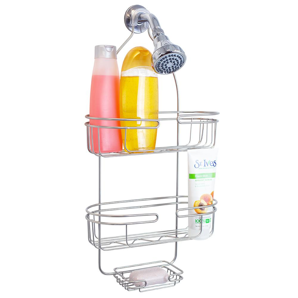 Element Shower Caddy in Satin Nickel