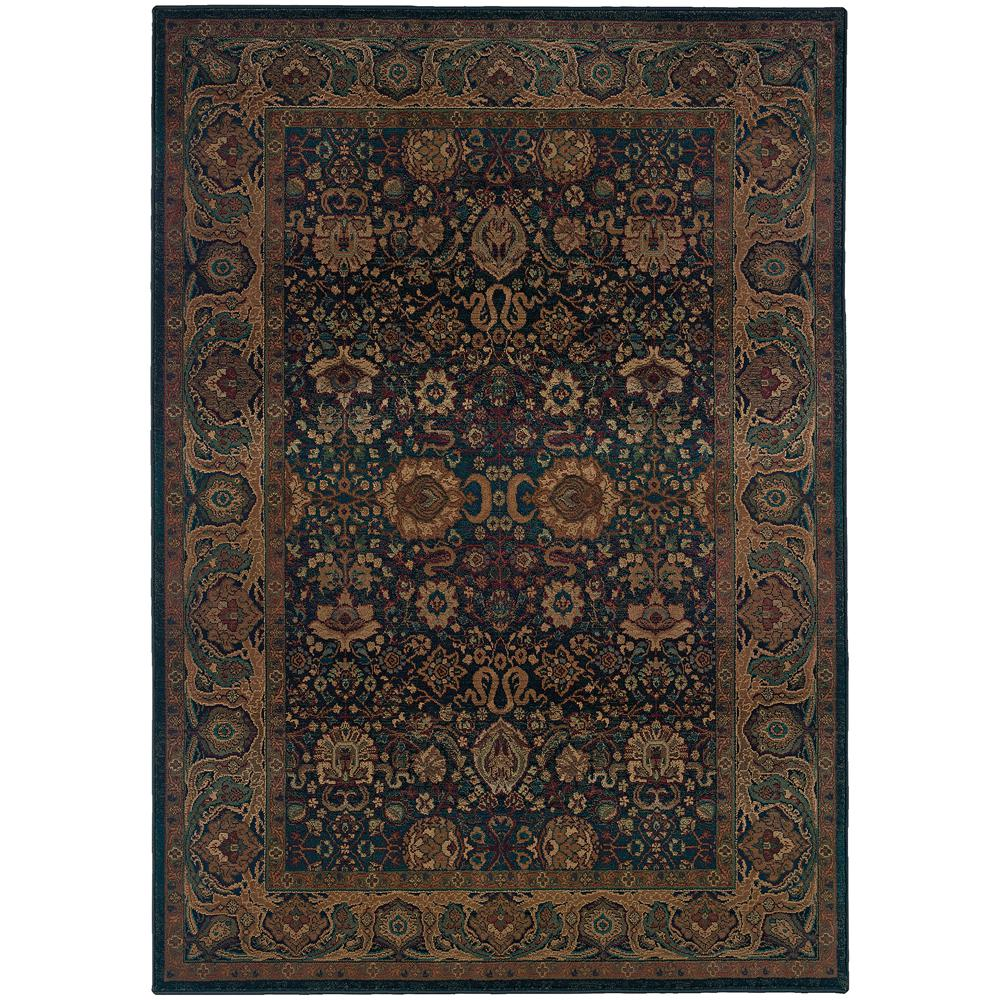 Home decorators collection exhilaration blue 6 ft 7 in x for Home decorators rugs blue