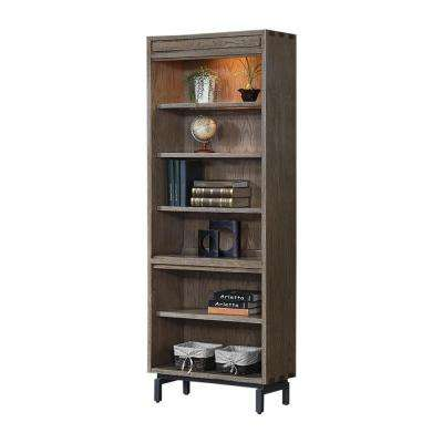 Fremont Toffee Open Bookcase