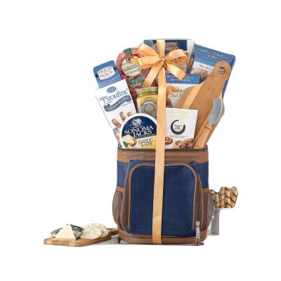 Hole in One Golf Gift Basket with Golf Cooler