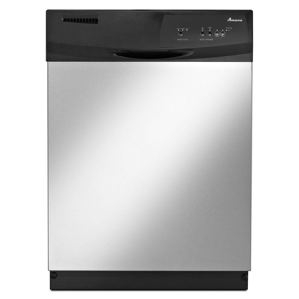 Front Control Tall Tub Dishwasher in Stainless Steel, 63 dBA