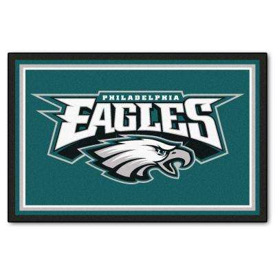 Philadelphia Eagles 5 ft. x 8 ft. Area Rug