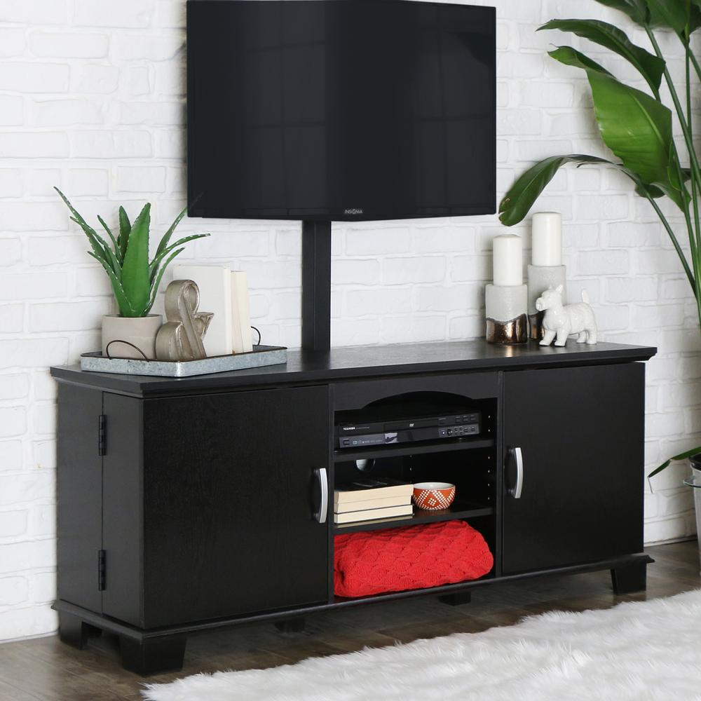 Ordinaire Walker Edison Furniture Company Jamestown Black Entertainment Center