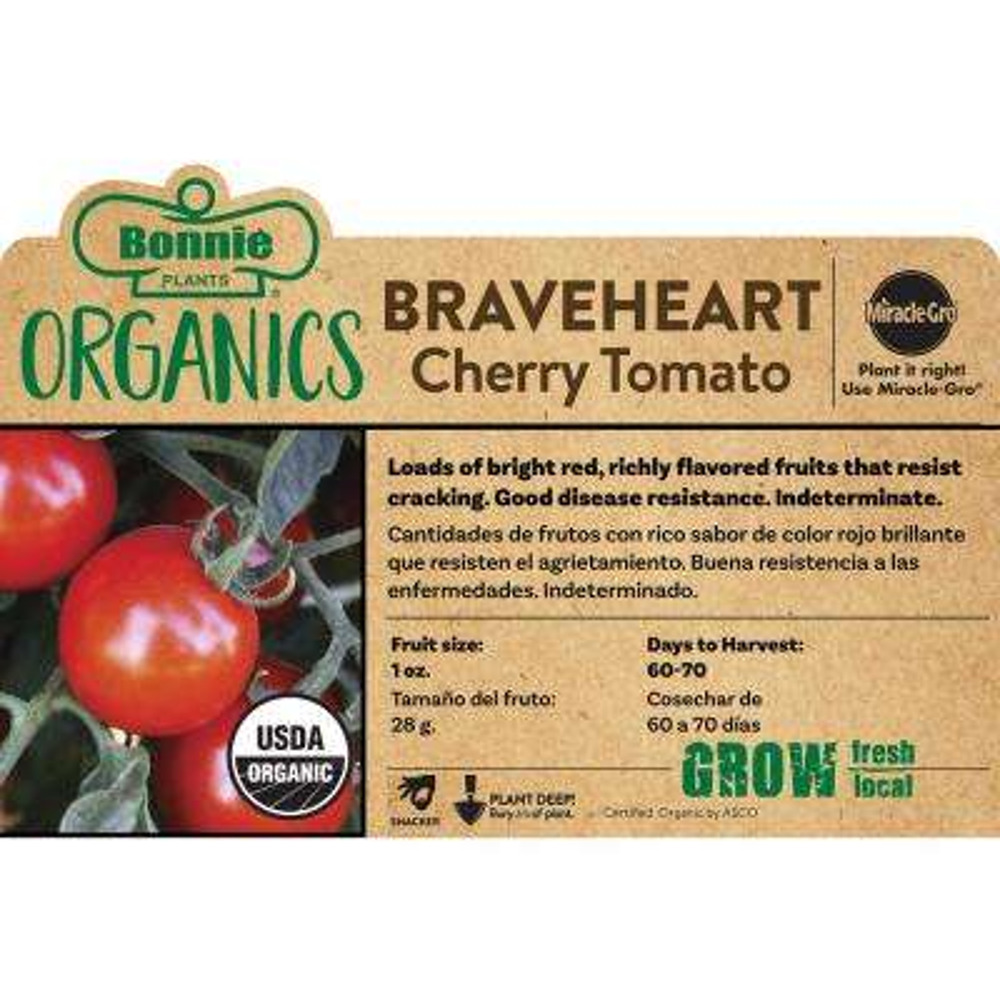 Organic Braveheart