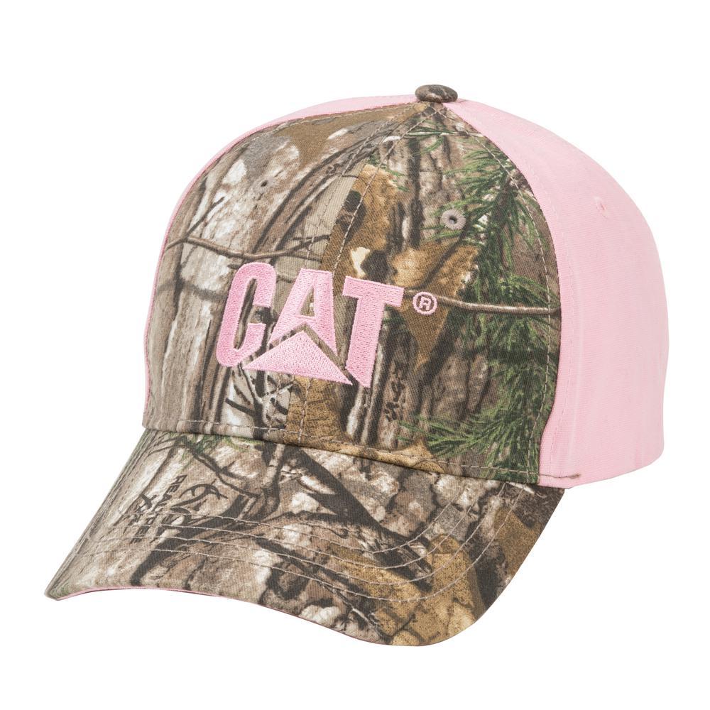Trademark Women's One Size Realtree Pink Cotton Canvas Cap Headwear