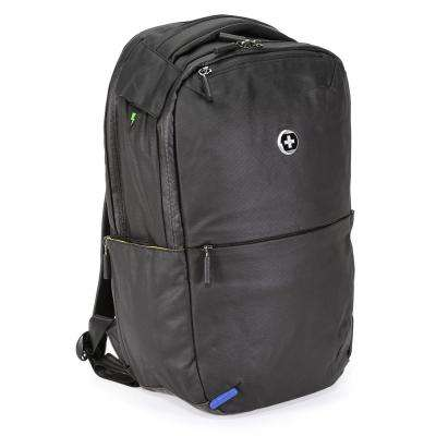 Remote Medium Black Polyester Backpack