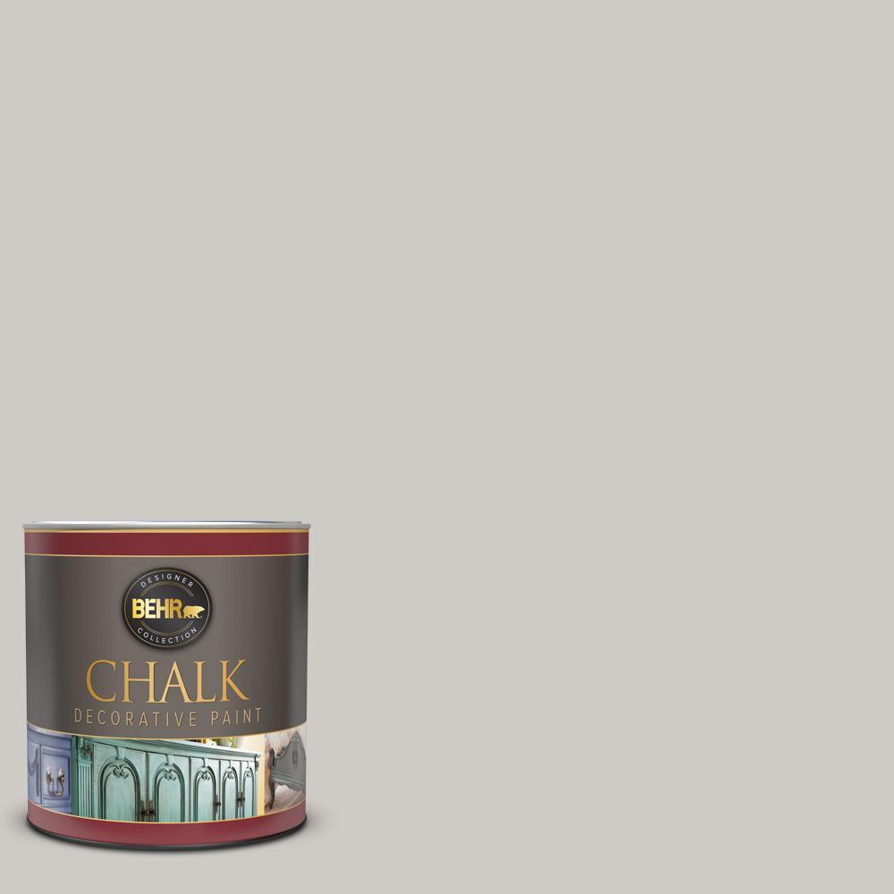 BEHR 1 qt. #PPU26-10 Chic Gray Interior Chalk Decorative Paint
