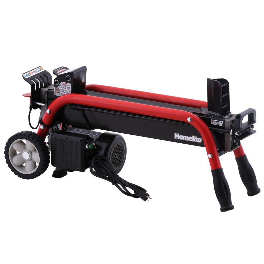 5-Ton Electric Log Splitter ShopFest Money Saver