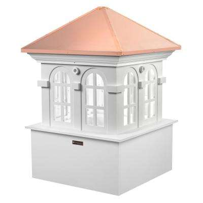 Smithsonian Chesapeake 60 in. x 88 in. Vinyl Cupola with Copper Roof