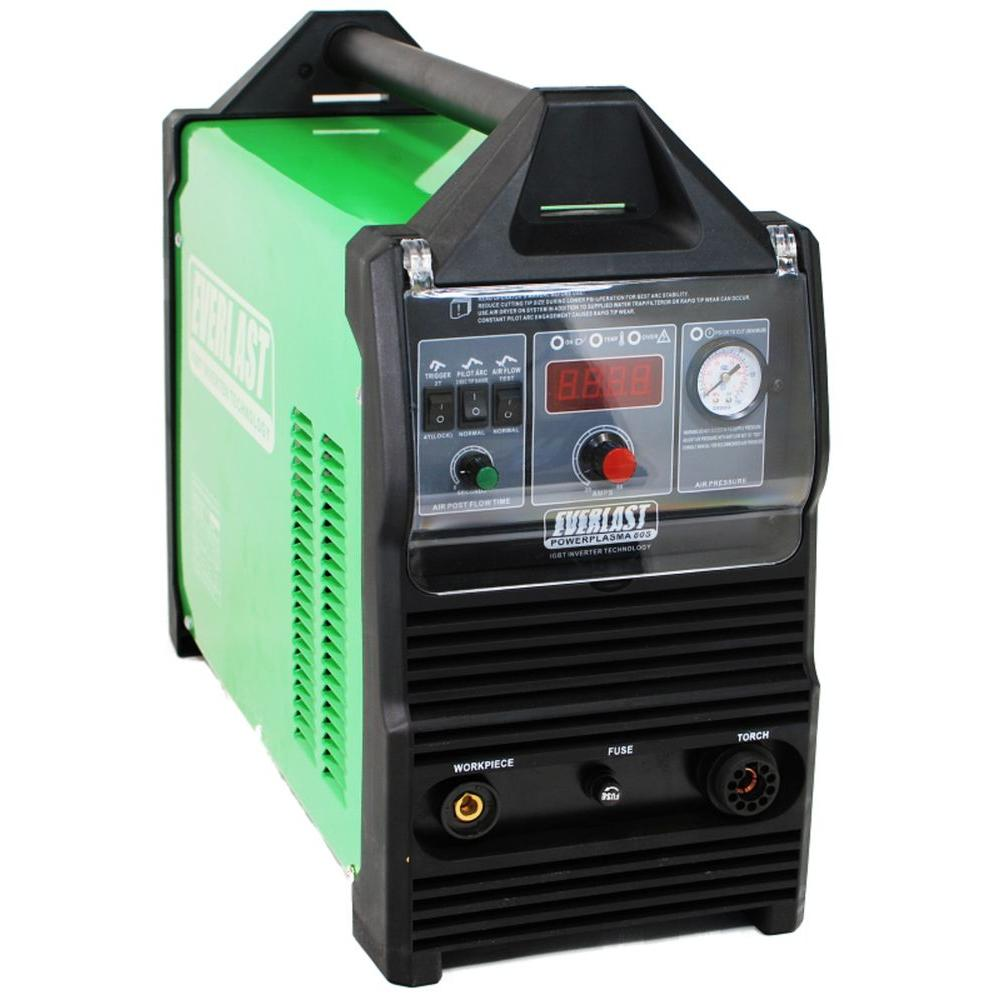 Everlast 80 Amp PowerPlasma 80S IGBT Inverter DC Plasma Cutter with 1-7/16