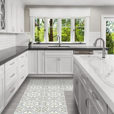 Gray Cement Tile Tile The Home Depot