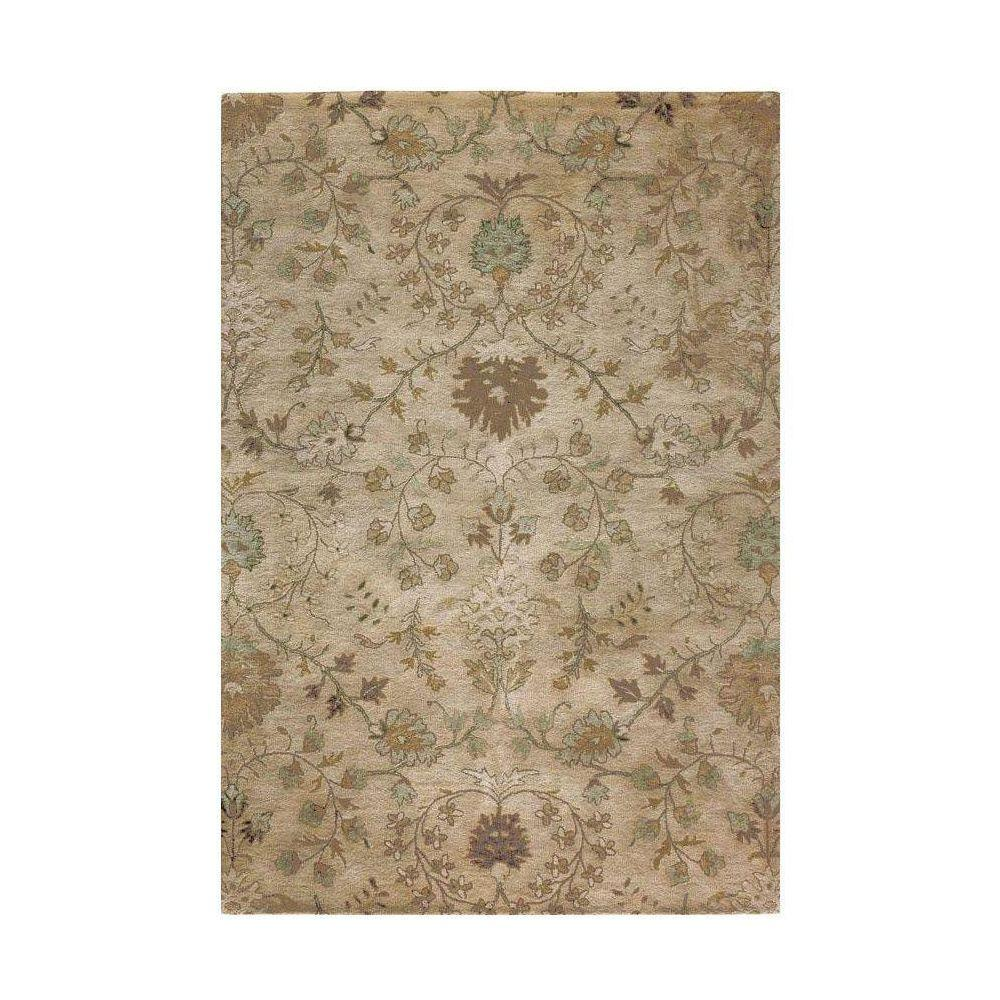 Home Decorators Collection Baroness Beige 6 ft. x 9 ft. Area Rug