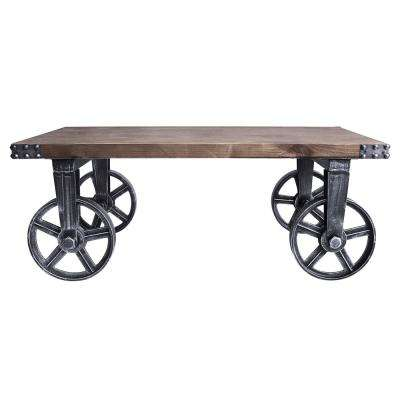 Benefield Industrial Grey Coffee Table