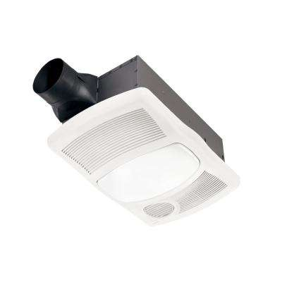 110 CFM Ceiling Bathroom Exhaust Fan with Light and 1500-Watt Heater