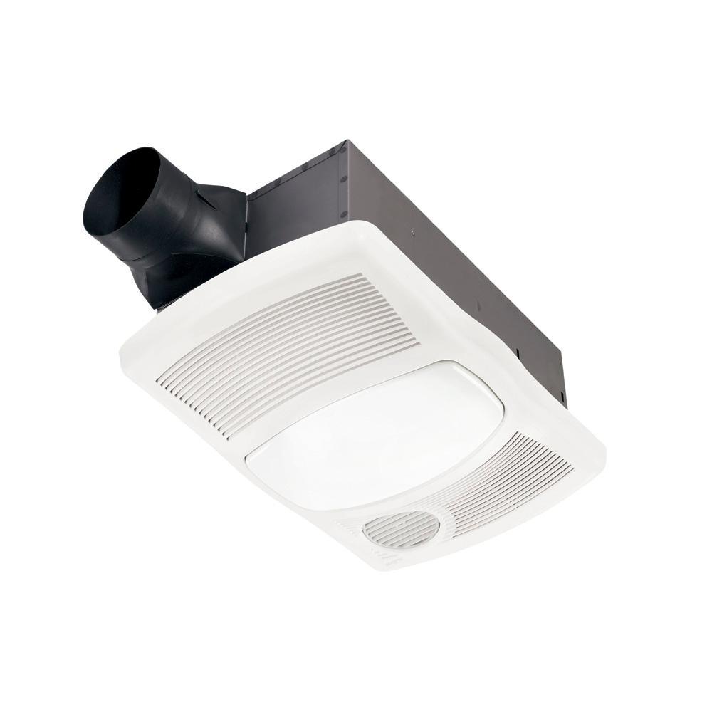 Broan Nutone 110 Cfm Ceiling Bathroom, Bathroom Fan Heater Light